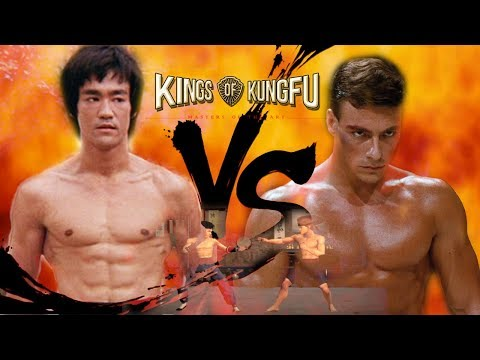 Bruce Lee vs Jean Claude Van Damme - The Dragon vs The Mussels from Brussels