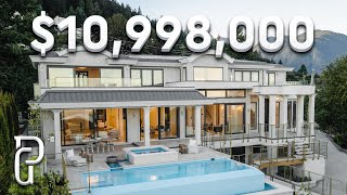 Inside a $10,998,000 Luxury Home in West Vancouver Canada | Propertygrams Mansion Tour