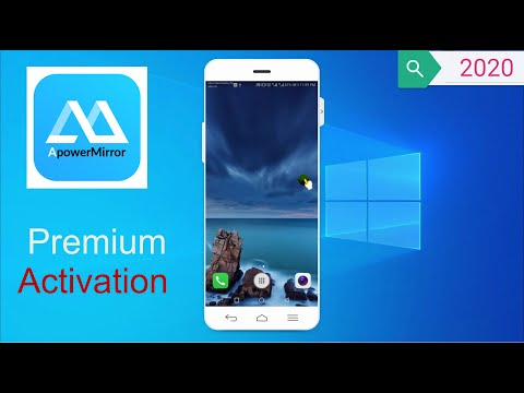 How To Mirror Your Phone With Window PC -  Apowermirror License Key Or Crack
