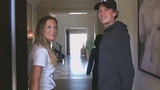 Emmeli och Rickard visar sitt nya mansion  - Playmakers (TV4)