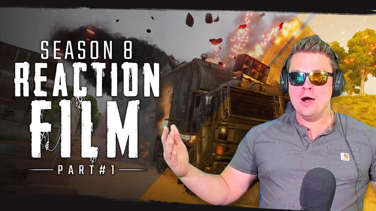 Season 8 Reaction Film | PUBG