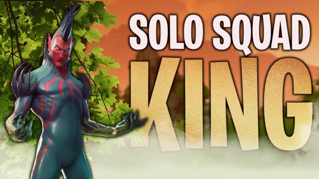 The Solo Squad King 20 Kills Fortnite Battle Royale Youtube