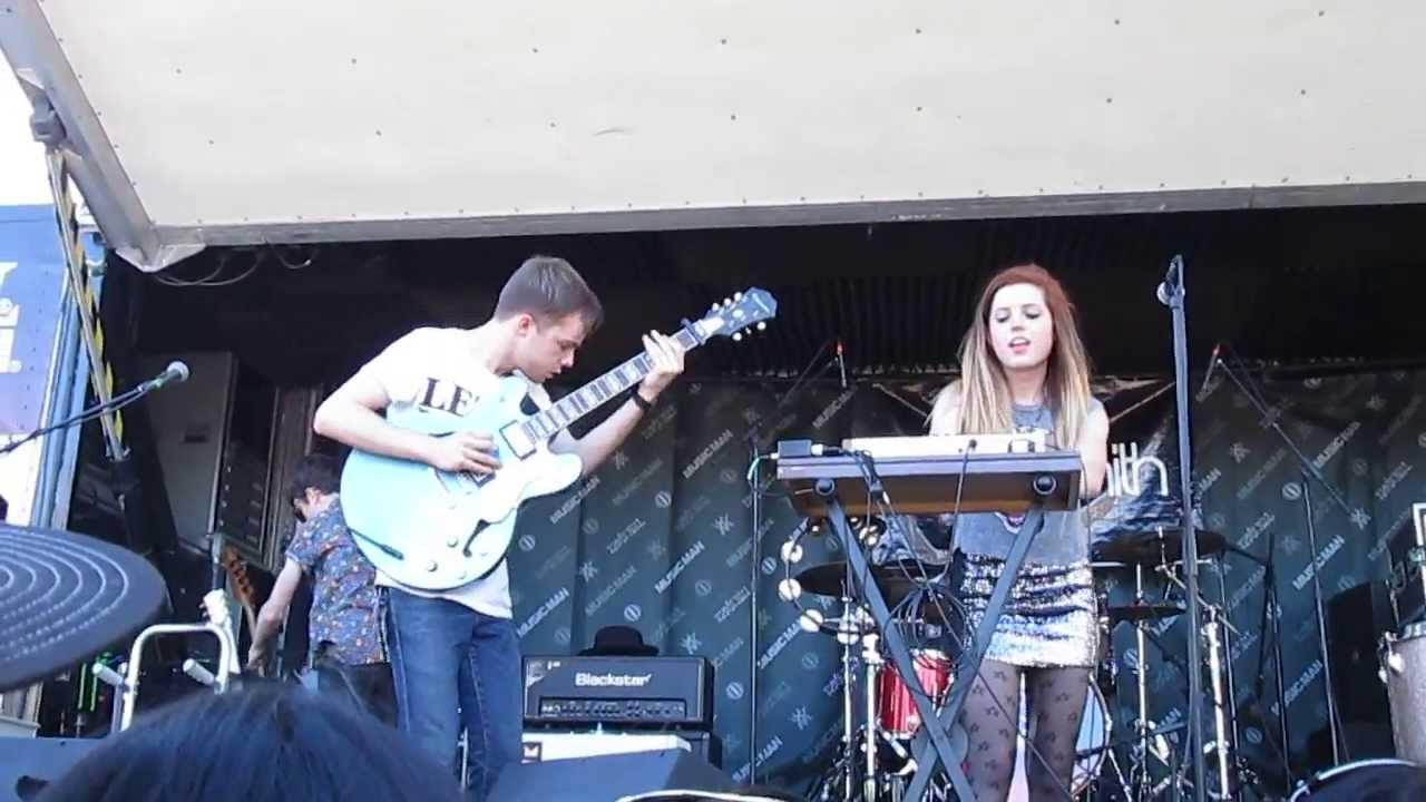 67b91844dd Echosmith live Cool Kids Warped Tour 2013 - YouTube