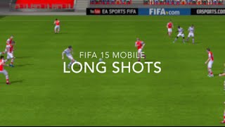 Fifa 15 iOS/Android Skill Tutorials #8- Long Shots