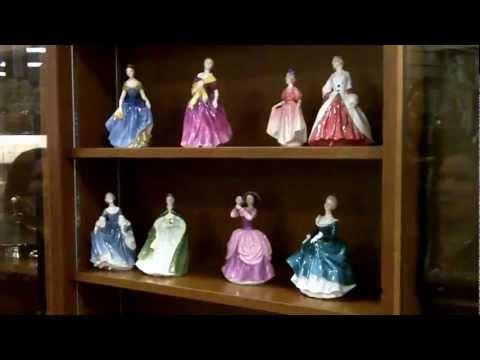 Antique China, Royal Doulton Porcelain Figurines, England