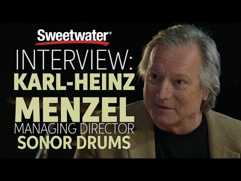Interview with SONOR Drums Managing Director, Karl-Heinz Menzel