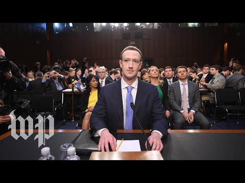 Mark Zuckerberg testifies on Capitol Hill (full Senate heari
