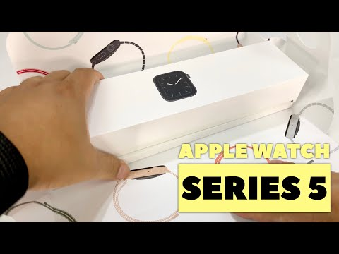 UNBOXING APPLE WATCH SERIES 5 GPS & CELLULAR