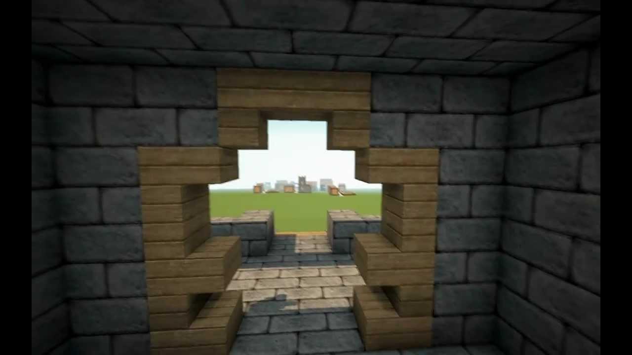 3) Bau-Ideen: Minecraft Burg/ Kreativ-Modus [720p HD] - YouTube