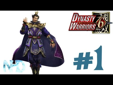 Let's Play Dynasty Warriors 6 Cao Cao (Wei pt1) Battle of Hu Lao Gate