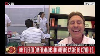 Coronavirus: Entrevista al médico oftalmólogo Marcelo Zas