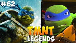 Черепашки-Ниндзя: Легенды. Прохождение #62 LEONARDO (TMNT Legends IOS Gameplay 2016)