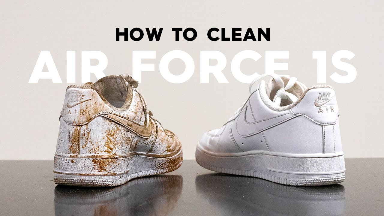 How To Clean Gross Nike Air Force 1