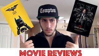John Wick 2 & Lego Batman Movie  - Montreal Joker Review