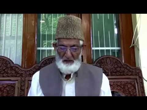 Syed Ali Geelani Addresses the Nation Today   Describes the defeat of India in Kashmir [09/09/2016]