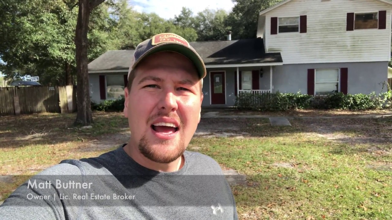 We Bought A House In Sorrento Without Seeing Inside!   My Florida Home Buyers   (352) 519-4512
