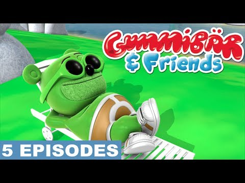 Gummy Bear Show Fifth 5 Episodes - Super Gummy, Creepy Creature of Nightmare Creek, Camping Trip
