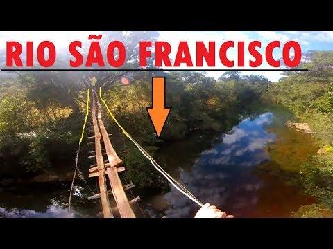 Pinguela Ponte Sobre Rio São Francisco - Serra da Canastra - Camping da Sol- Minas Gerais *FullHD*