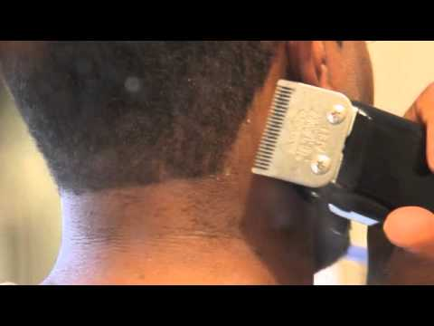 Home Hair Cut Doing Your Own Shape Up Edge Up Youtube