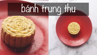 EAT CLEAN | Làm bánh trung thu khoai lang nhân đậu đỏ ♡ Hana Giang Anh