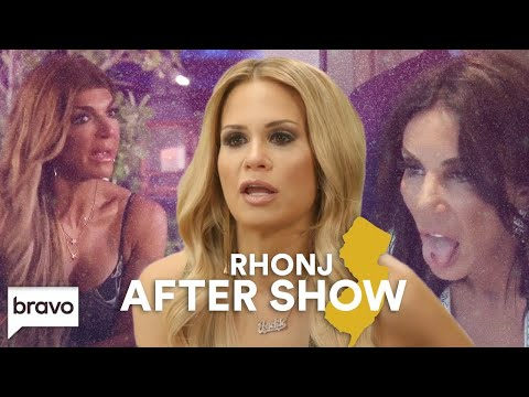 Danielle's Bloody Injury; Jackie & Teresa Fight | RHONJ After Show (S9 Ep7) | Bravo
