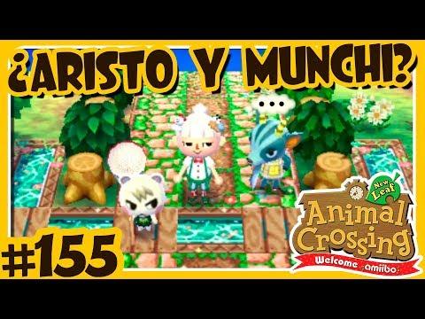 EL ARISTUNCHI ES REAL? ARISTO Y MUNCHI #155 ANIMAL CROSSING NEW LEAF WELCOME AMIIBO