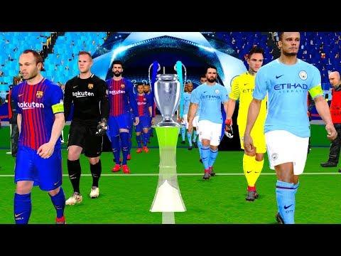 barcelona vs manchester city estadisticas