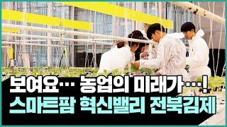 스마트팜 혁신벨리 -전북 김제편-  보여요! 농업의 미…