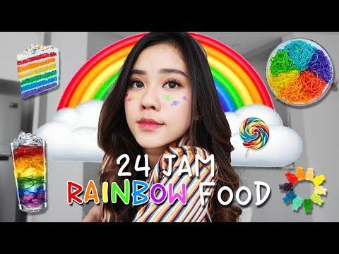 24 JAM MAKAN YANG RAINBOW DOANG!