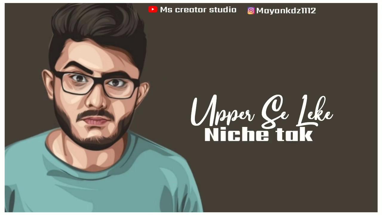 Carry minati-Tiktok vs Youtube status video  Ms creator studio