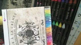 Prima Oil Pastels: Ideas and a first look