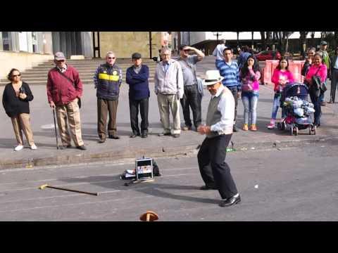 Senior Citizen Street Performer