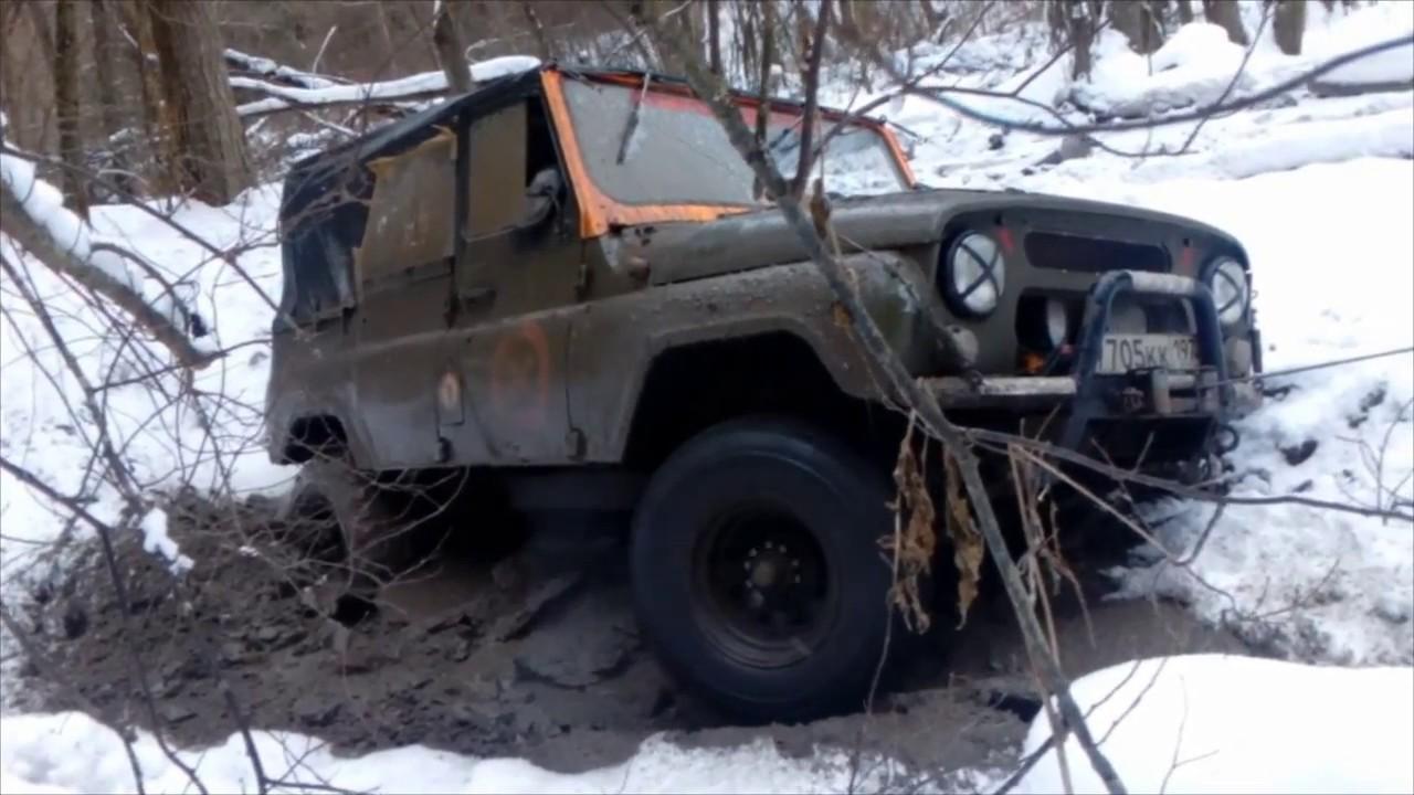 "УАЗ 469 ""козлищще"". Лесной тест"