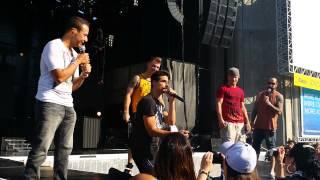 6/22/14 Backstreet Boys VIP sound check