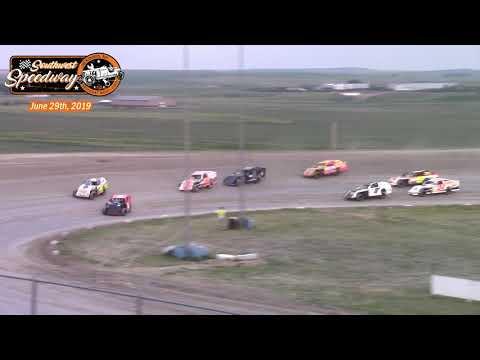 Southwest Speedway IMCA Sport Mod A-Main (6/29/19)