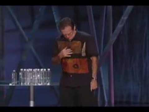 Robin Williams W. Bush & Dog