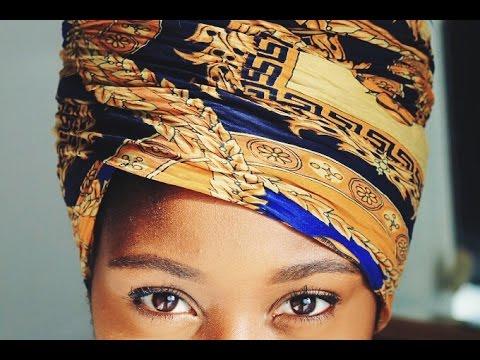 Egyptian Queen/Nefertiti Headwrap Quick & Easy Tutorial