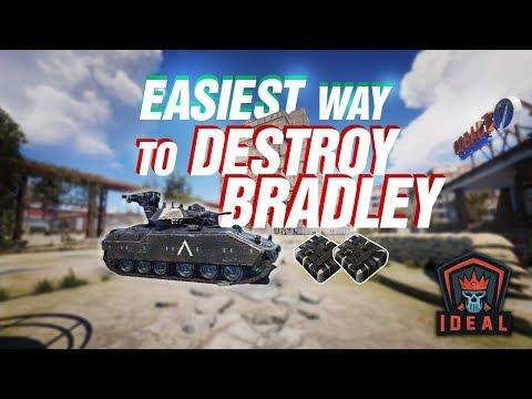 Rust • Easiest Way To Destroy The Bradley APC Tank