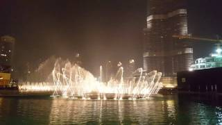 Dubai Fountain...arabic song