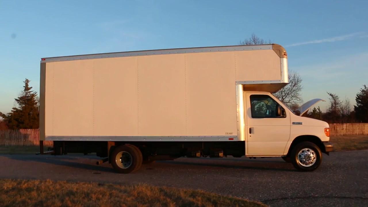 Ford E450 Econoline 18ft Box Truck For Sale Super