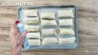 GoodLife Kitchen FoodLife: Baked Chicken Spring Rolls