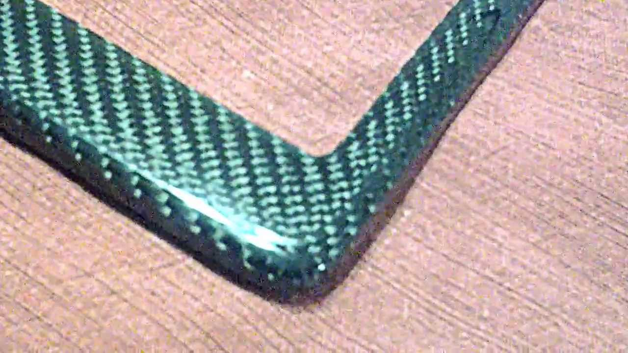 carbon fiber licence plate frame for sale made in the usa youtube. Black Bedroom Furniture Sets. Home Design Ideas