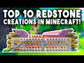 Top 10 Redstone Creations In Minecraft