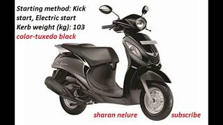 Yamaha Fascino Price, Mileage, Colors, Images,