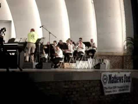Brian Shephard, Guest Conductor at Music Under the Stars 2