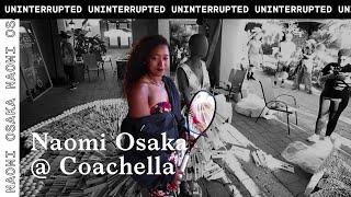 Naomi Osaka Creates Art at Coachella