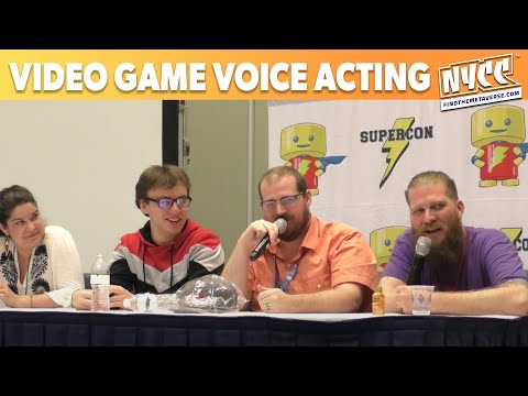 Video Game Voice Acting Panel