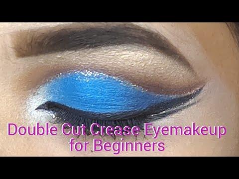 cut crease eye makeup tutorial  youtube