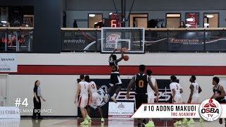 TOP 10 PLAYS from Athlete Institute Prep vs. TRC Academy (OSBA GOTW)