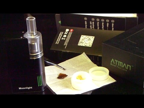 Atman Moonlight Concentrate/ Wax Vaporizer: Blazin' Gear Reviews